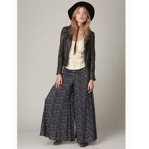 Free people floral palazzo pants
